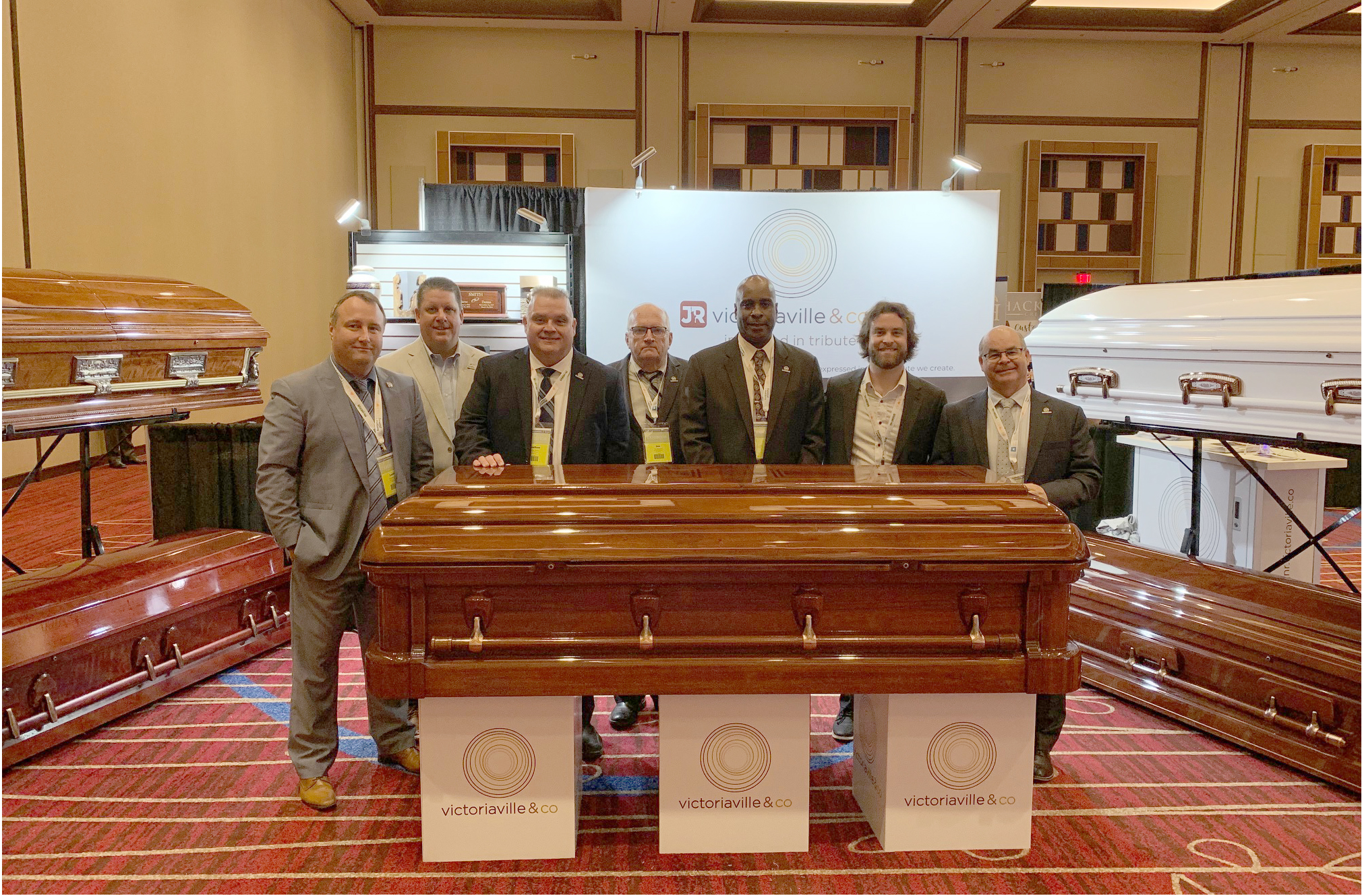 L'équipe de J&R Victoriaville participait au New-Jersey State Funeral Directors' Association Convention les 17-18-19 septembre 2019 à Atlantic City